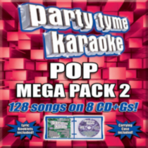 Sybersound - Party Tyme Karaoke: Pop Mega Pack 2 (8 Disc Box Set)