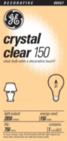 GE Crystal Clear 150W A21 1pk