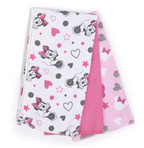 Disney Minnie Mouse 3 Pack Cotton Receiving Blankets
