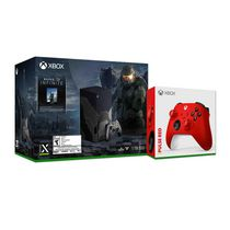 Xbox Series X – Halo Infinite Limited Edition Bundle plus Xbox Wireless Controller – Pulse Red for Xbox Series X|S, Xbox One, and Windows Devices