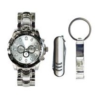Trend Watches Men's Watch Set with Multi Tool and Bottle Opener