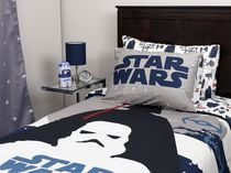 Ens. douillette Star Wars de la collection Dark Side en coton pour lit simple