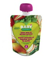 Baby Gourmet Foods Inc Juicy Pear and Garden Greens Organic