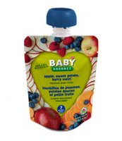 Baby Gourmet Apple Sweet Potato Berry Swirl Organic