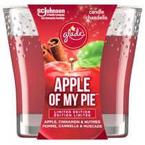 Glade Scented Candle Air Freshener, Apple of My Pie