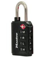 Master Lock 4691DWD 35 mm Luggage Combination Lock