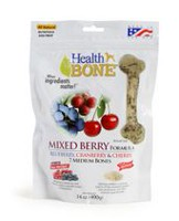 Omega Paw Mixed Berry Medium Size Health Bone for Dogs