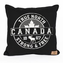Canadiana Strong and Free Decorative Cushion