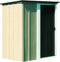 Brentwood 5' x 4' Tall Steel Shed