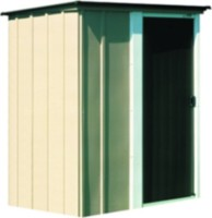 brentwood 5 x 4 tall steel shed