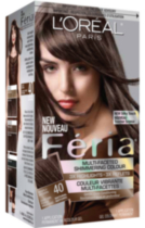 L'Oreal Feria #40 Deeply Brown
