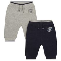 George British Design Baby Boys' 2Pk Sweatpant 6-12 months