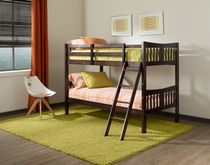 Stork Craft Caribou Bunk Bed Dark Brown