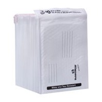 Duck Brand 25-Pack White Poly Bubble Mailers