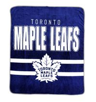 NHL Toronto Maple Leafs Luxury Velour Blanket