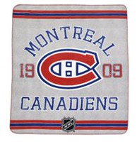 NHL Montreal Canadiens Classique Fan Throw