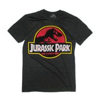 Jurassic Park Men's Short Sleeve Graphic Tee M