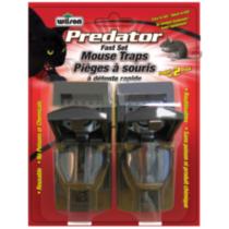 Wilson Predator Fast Set Mouse Traps 2pk