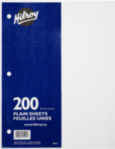 Hilroy Feuilles mobiles unies