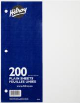 Hilroy Refill Paper Plain