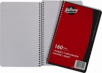 Coil Notebook, 1 Subject, 160 Page, 1 subject , 9-½ x 6, 160 Page