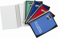 Hilroy Fat Lil' Notebook, 5½ X 4¼, 400 Page, Assorted Colours