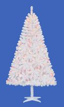 Holiday Time Madison™ 6.5' White Pine Christmas Tree with Multicolour Lights