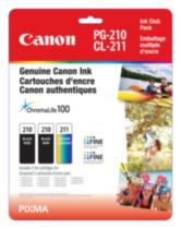 Canon- Emballage multiple d'encre PG-210 et CL-211