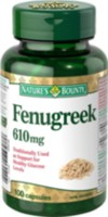 Nature's Bounty Fenugreek 610mg 100 Capsules