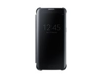 Samsung Galaxy S7 Clear View Edge Cover in Black