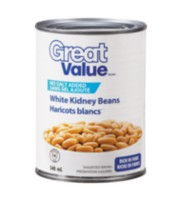 Great Value No Salt White Kidney Beans