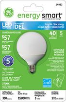 General Electric 5W LED Bulb G16.5 - 1 Pack