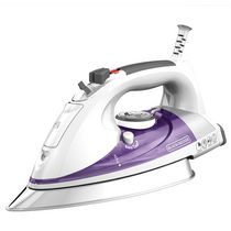 Black + Decker Professional Steam Iron with Stainless Steel Soleplate