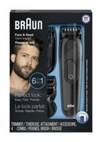 Braun 3020 6-in-1 Face and Head Multi-Trimming Kit