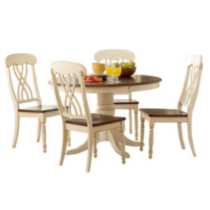 Topline Home Furnishings Dining Table 1393W-48