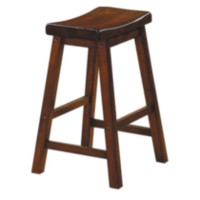 "24"" Saddle Back Stool"