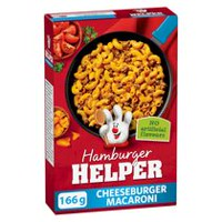 Hamburger Helper Cheeseburger Macaroni Cheddar-Cheese Seasoned Pasta
