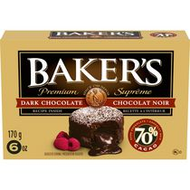 Baker's Premium 70% Dark Chocolate
