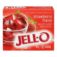 JELL-O Jelly Strawberry Powder