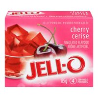 JELL-O Jelly Cherry Powder