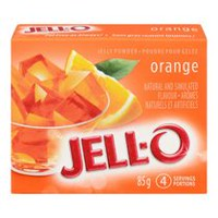 JELL-O Jelly Orange Powder