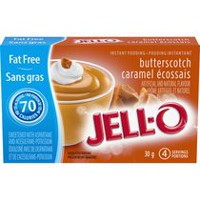 JELL-O Instant Butterscotch Pudding  Fat Free