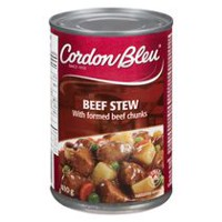 Cordon Bleu Beef Stew with formed Beef Chunks 410g
