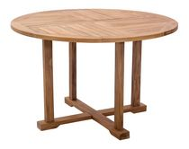 Zuo Modern Outdoor 1-Piece Teak Natural Regatta Dining Table