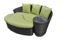 Henryka Lounger and Ottoman set