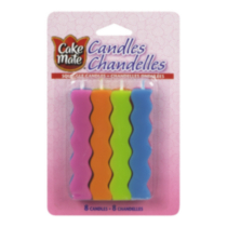 Cake Mate Squiggle Candles