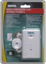 Ideal Security Inc. Wireless Water Detector Alarm SK616