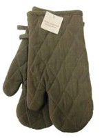 Fabstyles Oven Mitts Pair Brown