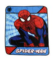 Spiderman Silky Soft Throw