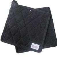 Fabstyles Pot Holder Pair Black